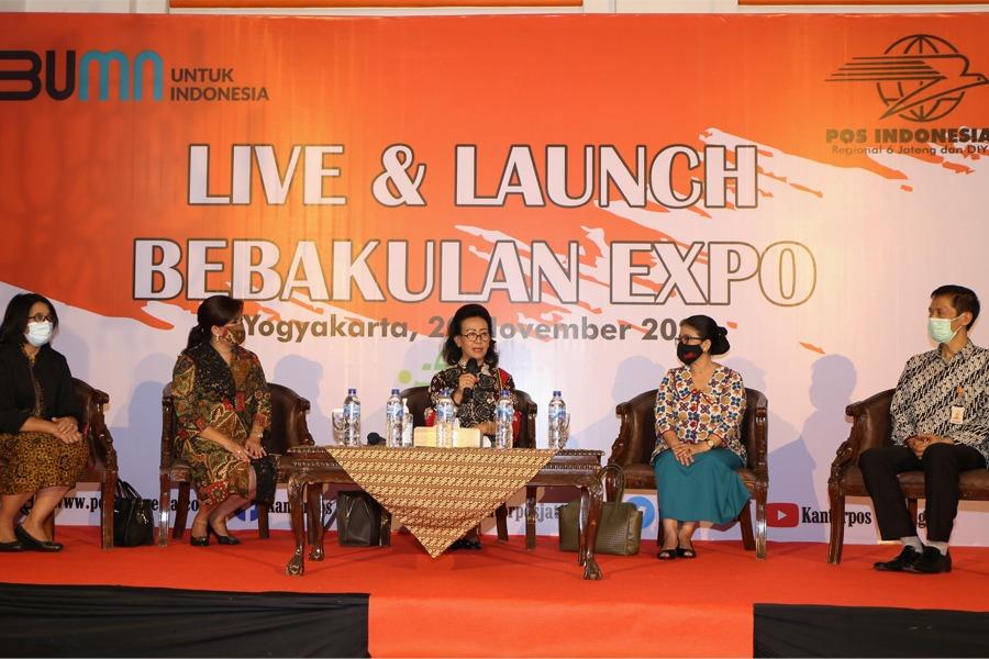 Live & Launch Bebakulan Expo EXPO 2020 di Kantorpos Yogyakarta