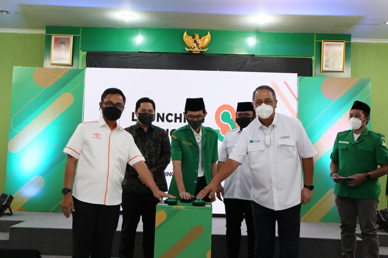 Launching Nasional KerjasamaPemberdayaan dan Pendampingan Umum UMKM Pos Indonesia dan GP ANSOR