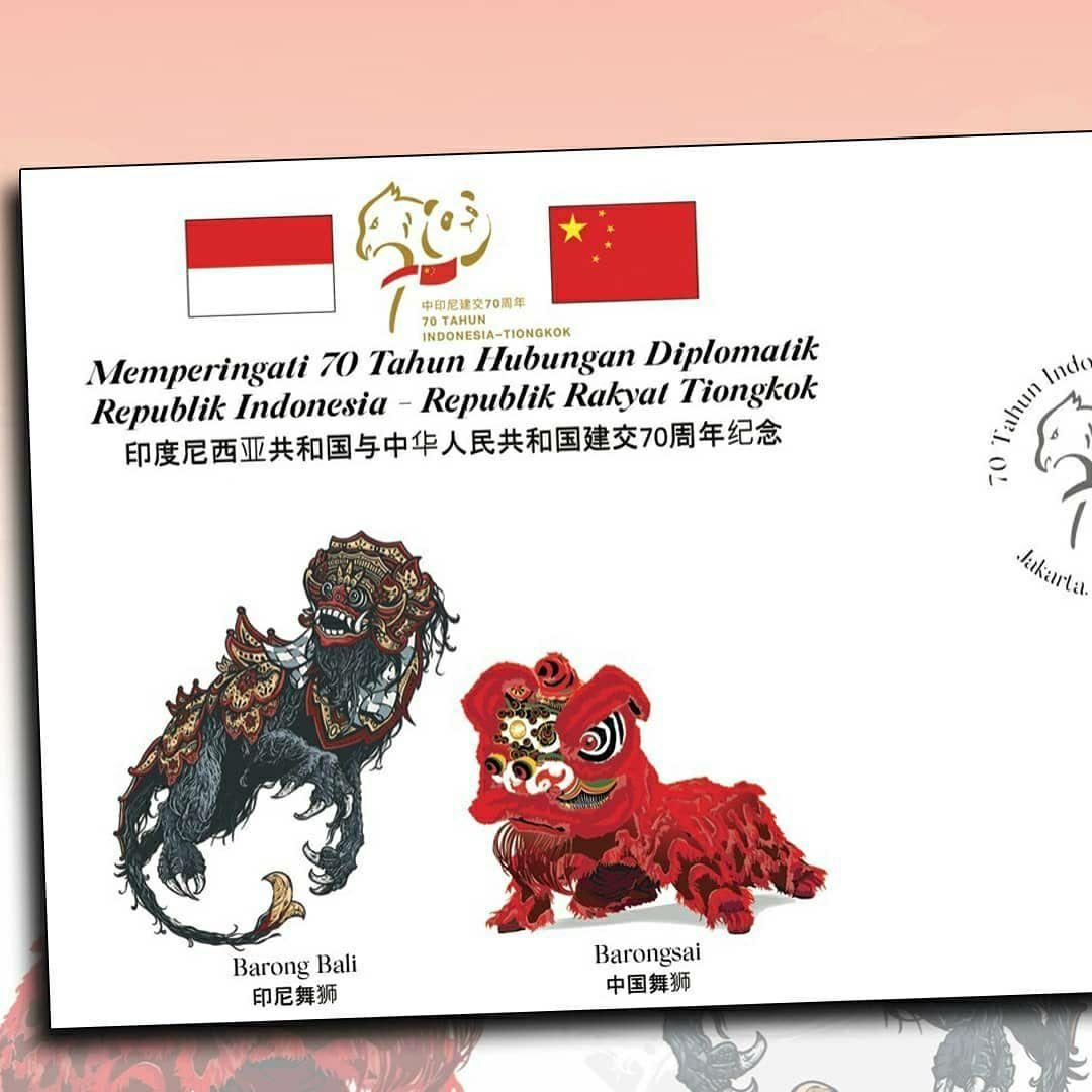 70 tahun Hubungan Diplomatik  Indonesia - Tiongkok