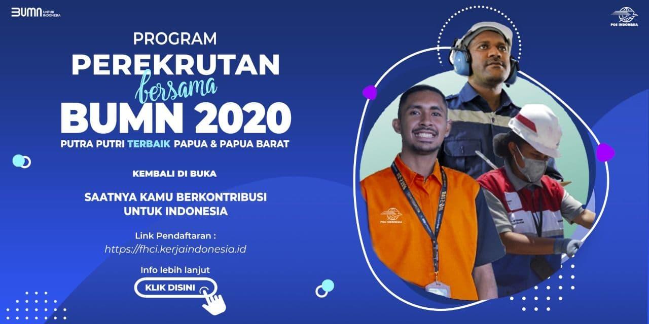 PROGRAM PEREKRUTAN BERSAMA BUMN 2020