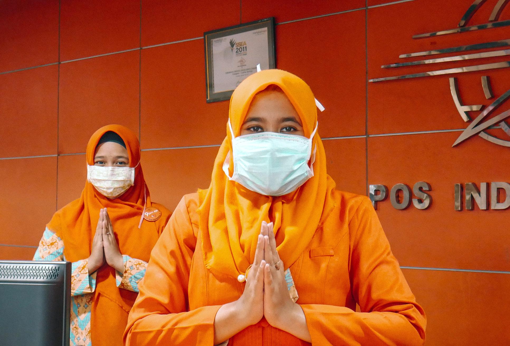 Salam Hangat dari Kami Pos Indonesia