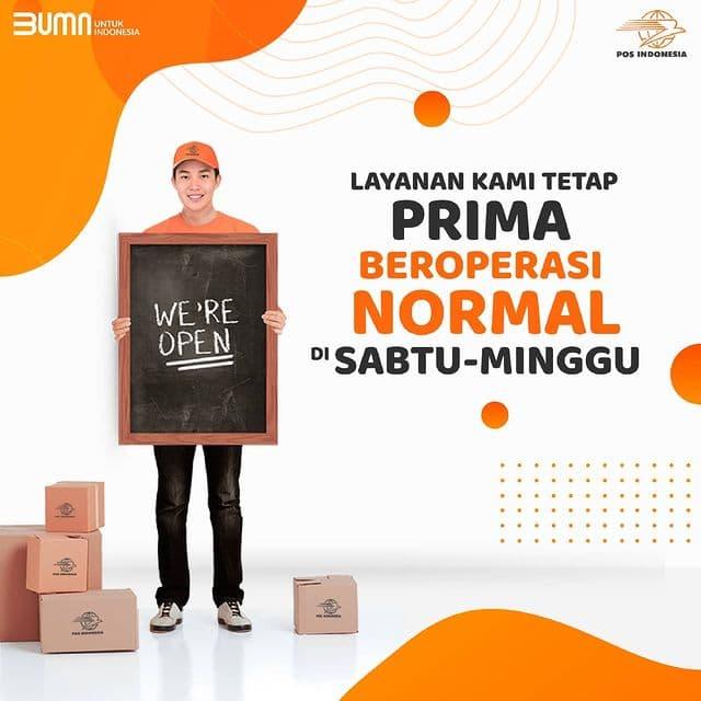 Genjot Bisnis Kurir dan Logistik, Pos Indonesia Buka Sabtu dan Minggu