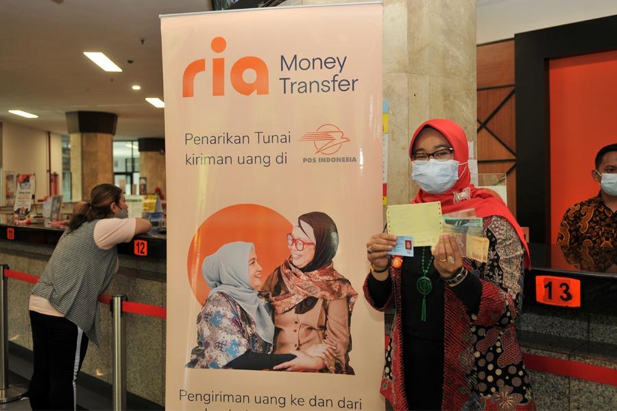 Tingkatkan Pelayanan Remitansi Luar Negeri, Pos Indonesia Gandeng Ria Money Transfer